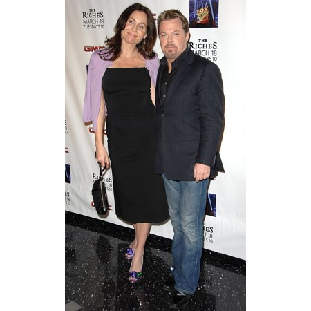 Minnie Driver (Wearing Prada Shoes)  Eddie Izzard At Arrivals For Screening Of Fx Network'S Riches Season 2 (Prada New Season)