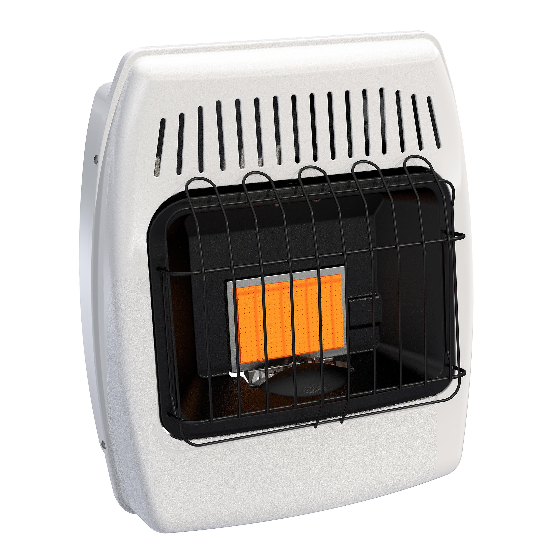 Dyna-Glo 6,000 BTU Liquid Propane Infrared Vent Free Wall Heater