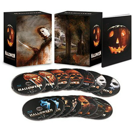 Halloween Complete Collection (Deluxe Edition) (Blu-ray) - Halloween Deluxe Blu Ray Box Set