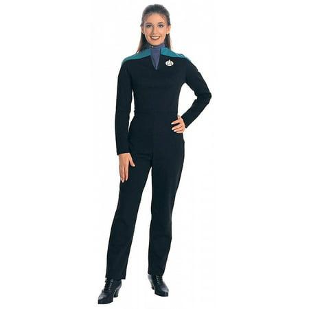 Star Trek Deluxe Deep Space 9 Costume Jumpsuit Adult Women Large
