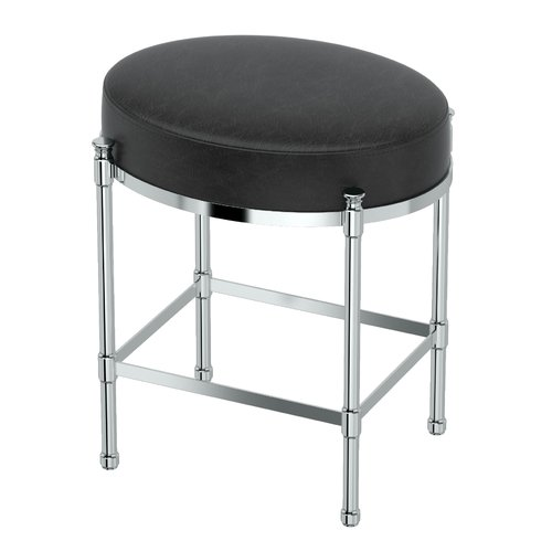 Gatco Oval Vanity Stool with Cushion