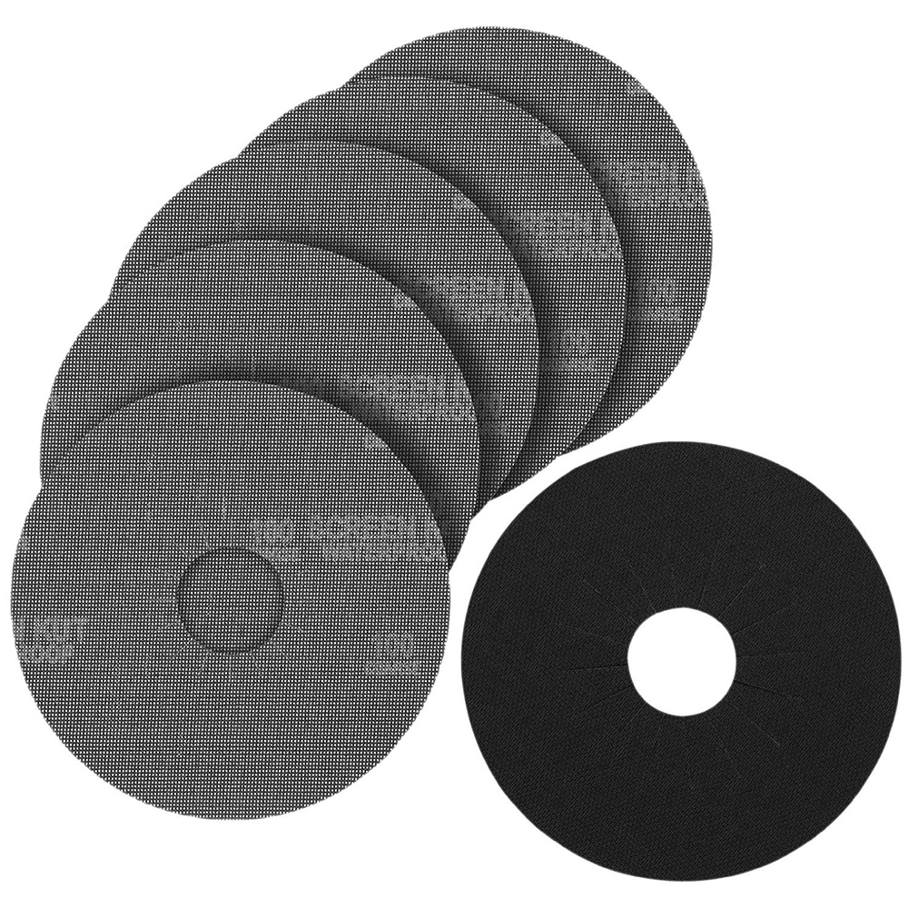 Porter-Cable 79080-5 80-Grit Drywall Hook and Loop Sander Pad and Disks (5-Pack)