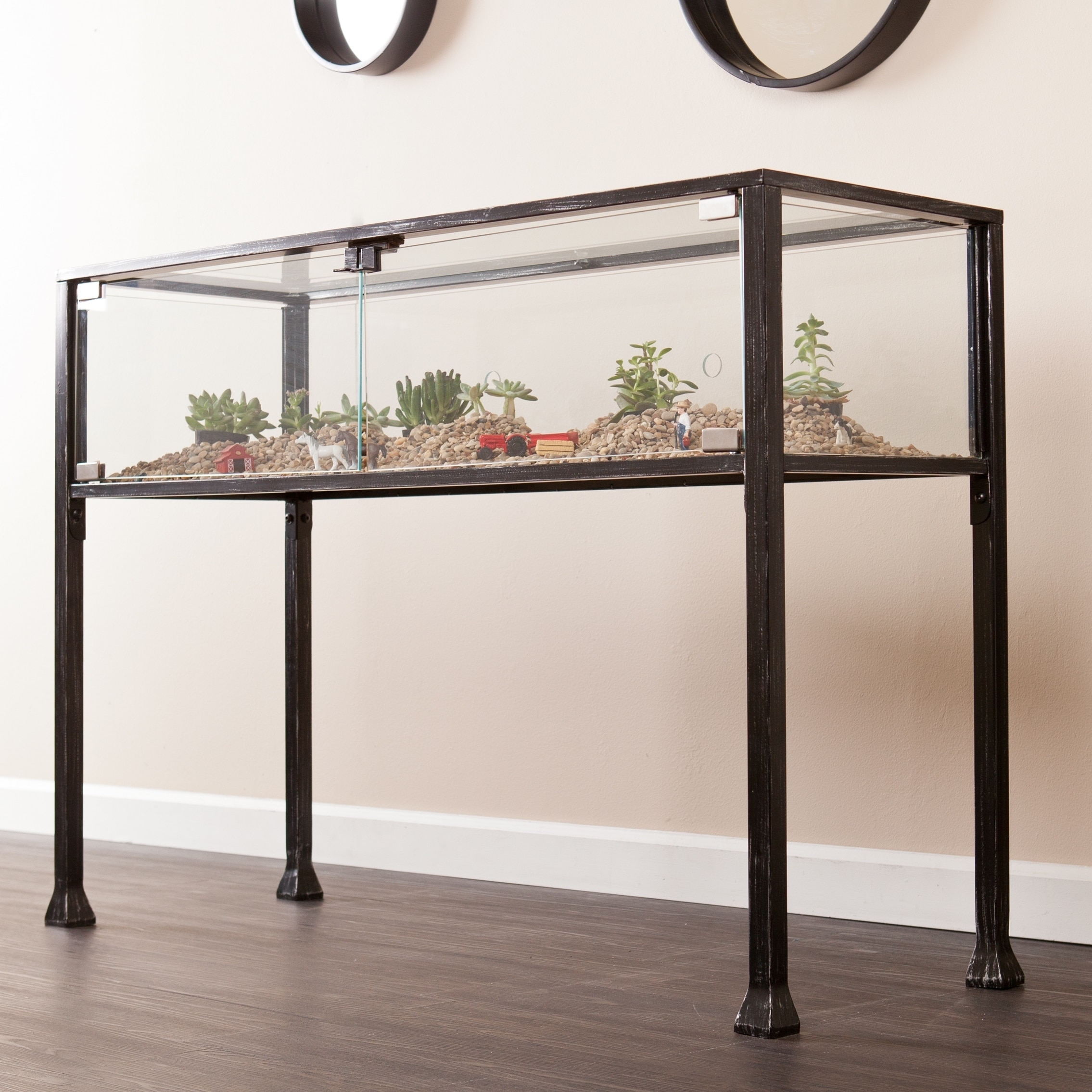 Harper Blvd  Display/ Terrarium Console/ Sofa Table
