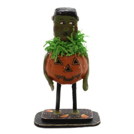 Halloween TRICK OR TREAT FRANKIE Polyresin Lexi Grenzer Designs 72087 - Trick Or Treat A History Of Halloween