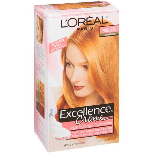 L Oreal Excellence Creme Triple Protection Light Reddish