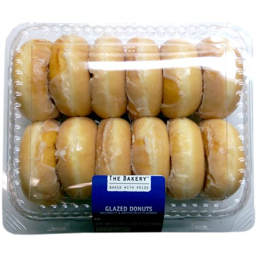 The Bakery Glazed Donuts, 12 count, 24 oz