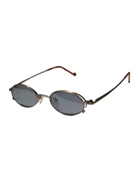 c9ff1393f3809 Product Image New Smartclip 211 Mens Womens Designer Half-Rim Antique Gold  With Polarized Glip-