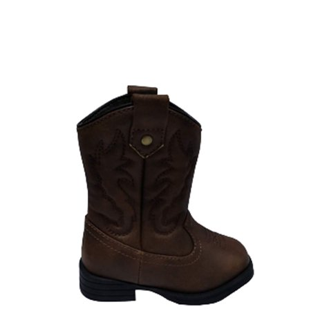 Burgundy Cowboy Boots (Wonder Nation Toddler Boys' Cowboy)