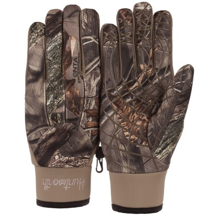Ladies Hiddn Camo Mid Weight Glove Small Medium thumbnail