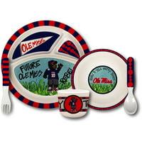 Ole Miss Rebels Kid's Dinnerware Set