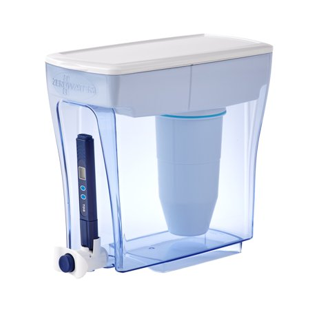 Zerowater 20-Cup Ready-Pour Dispenser with Free Water Quality Meter ZD-20RP