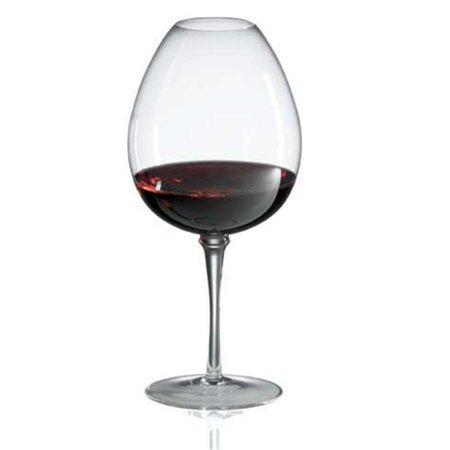 Ravenscroft Crystal W6346 Amplifier Mature Red Wine- Set of 4