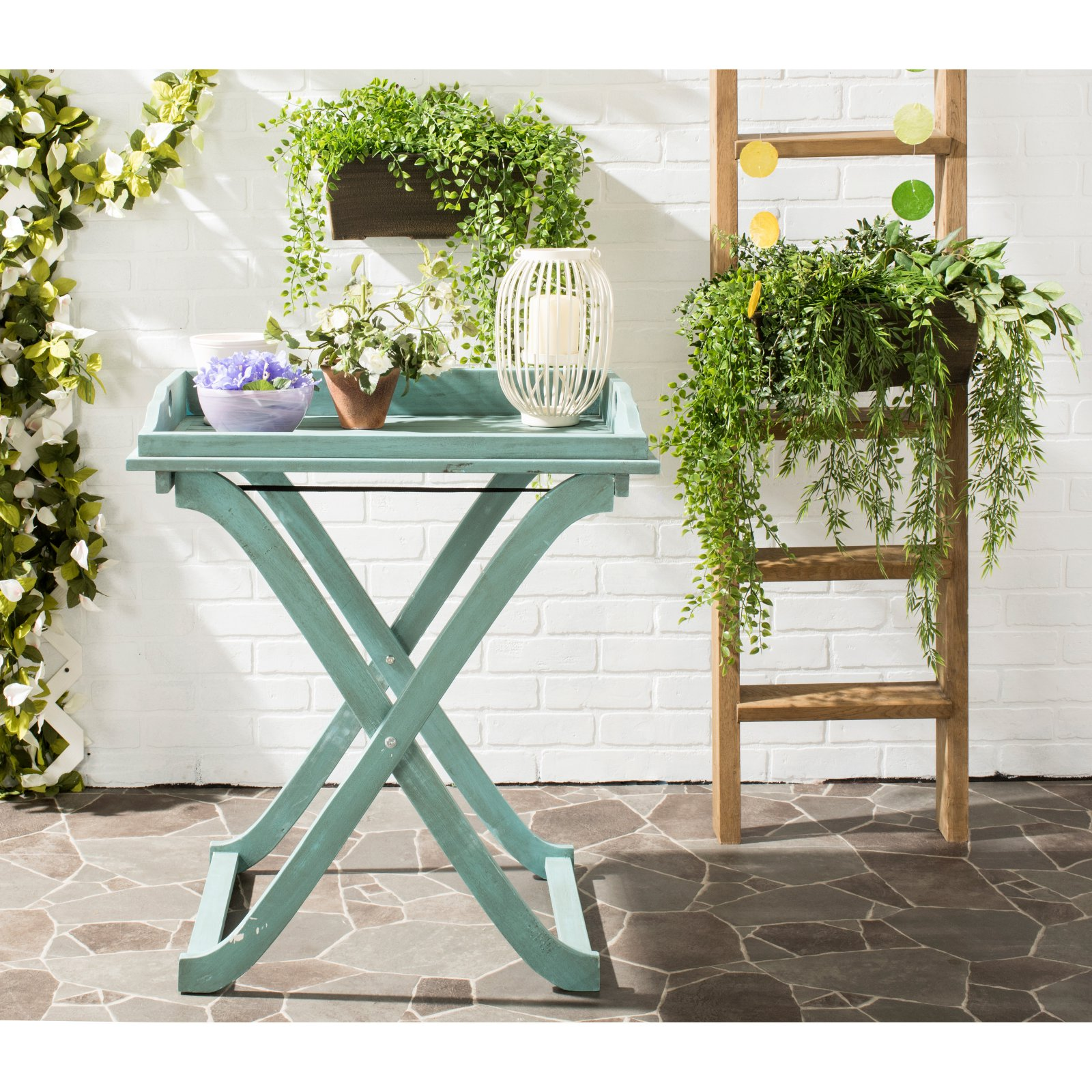 Safavieh Covina Tray Table, Multiple Colors