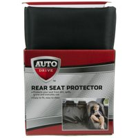 Auto Drive Water Resistant Rear Bench Seat Protector, Black