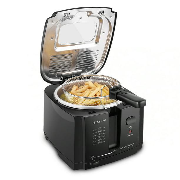 Deep Fryer With Basket Electric Deep Fat Fryer Cooker W 2 Liter