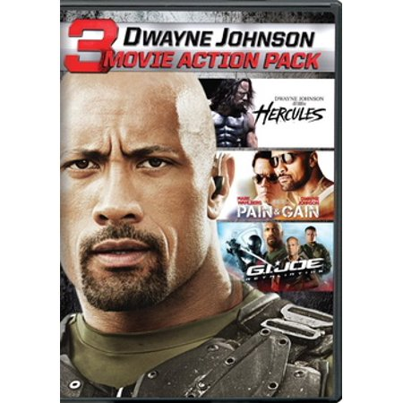 Dwayne Johnson Action Collection (DVD) (VUDU Instawatch Included) - Dwayne Johnson Halloween