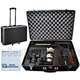 eCost 1 Hard Camera Equipment Case Fits Lenses and More for Samsung NX2000 NX300 Galaxy NX Plus Microfiber