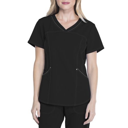Premium Collection Women's Stretch Rayon Scrub Top - Express Suits Womens