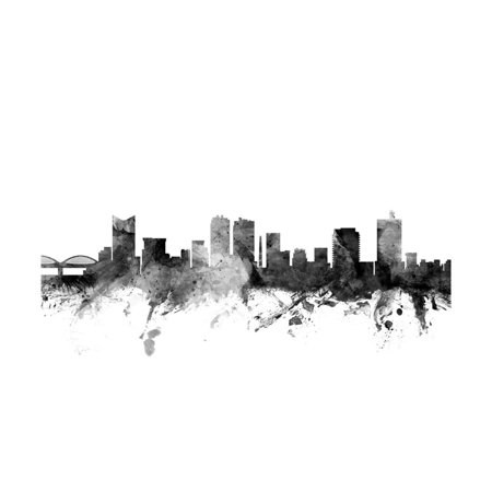 Fort Worth Texas Skyline Print Wall Art By Michael Tompsett - Halloween Festivals Fort Worth