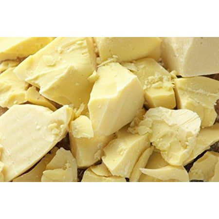 2 Lb Cocoa Butter, Pure, Raw, Unprocessed, Non-GMO. Incredible Quality and Scent. Use for Lotion, Cream, Lip Balm, Oil, Stick, or Body Butter. By SaaQin
