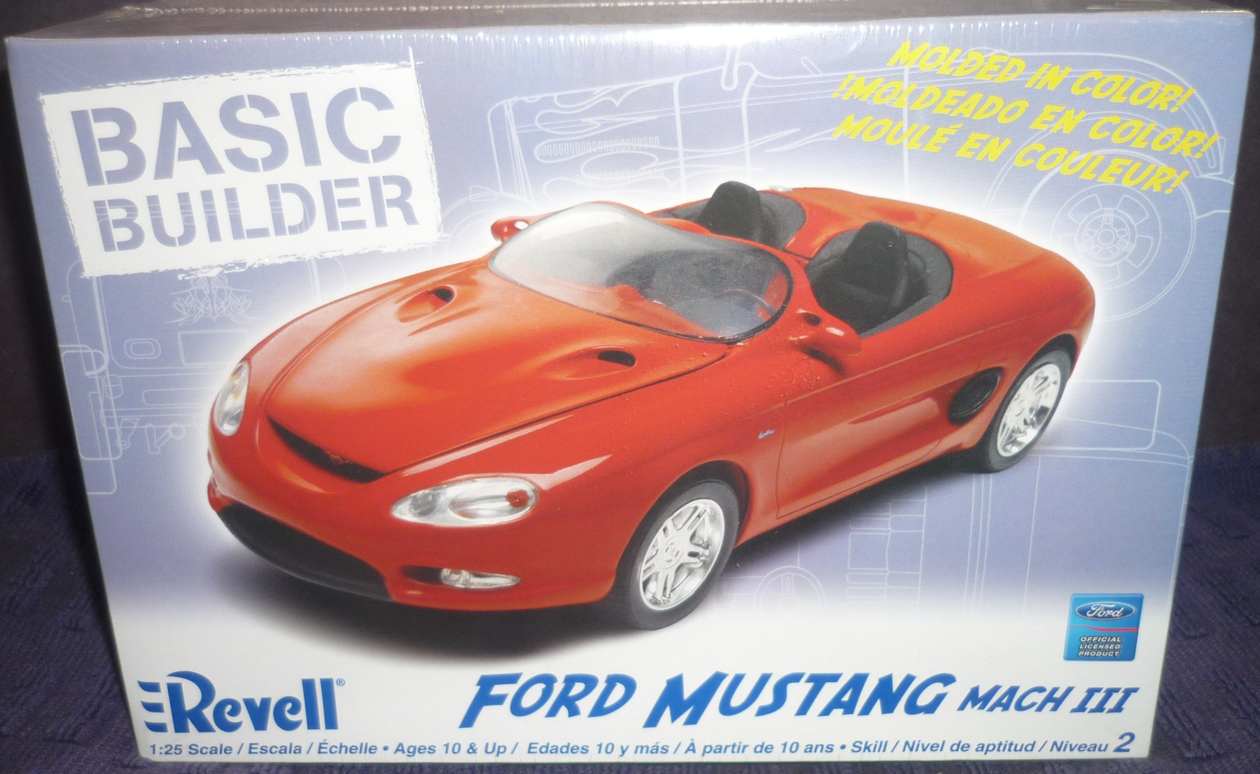 Revell 1:25 Mustang Mach III by