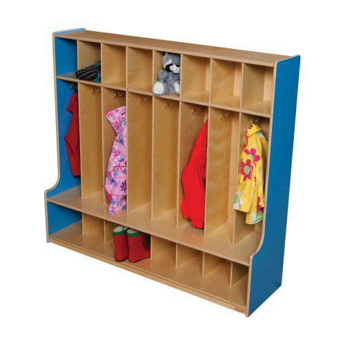Wood Designs 8 Section Seat Locker