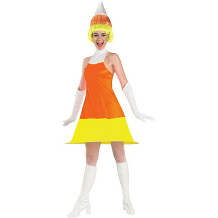 Candy Corn Adult Halloween Costume - Candy Corn Costume Adult