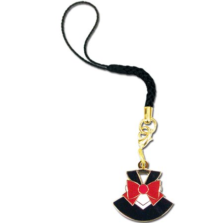 Cell Phone Charm - Sailor Moon - New Sailor Pluto Costume Licensed ge17513 (Mobile Phone Costume)