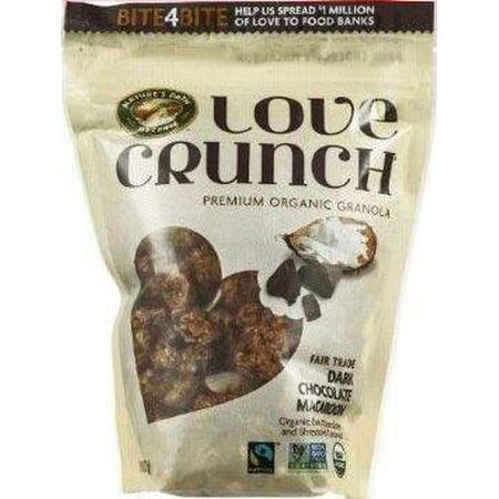 6 Pack :       Nature's Path Love Crunch Premium Organic Granola Dark Chocolate Macaroon