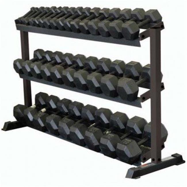 Olympia Sports BE304P Dumbbell Rack - 3 Tier