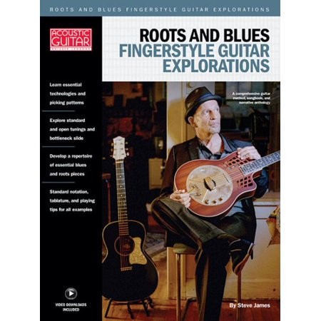 Acoustic Guitar Private Lessons (Roots & Blues Fingerstyle Guitar Explorations : Acoustic Guitar Private)