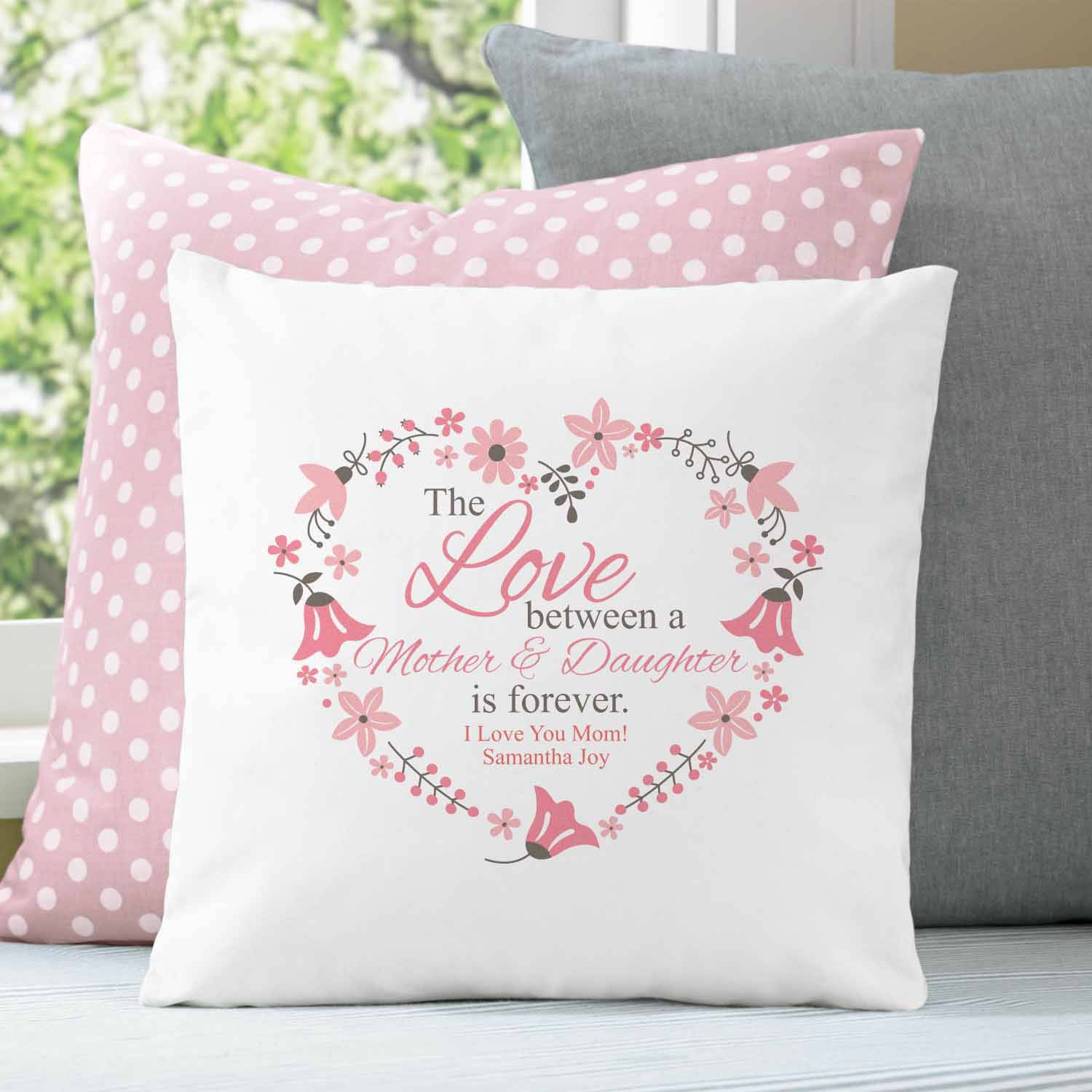 Personalized Love You Forever Pillow