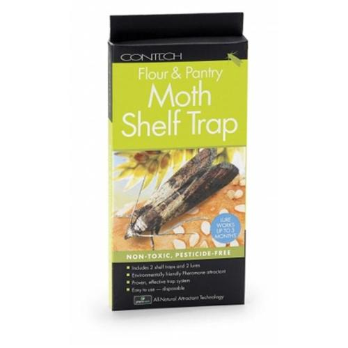 Contech 300000127 Flour And Pantry Moth Shelf Trap Strip - 2 Pack