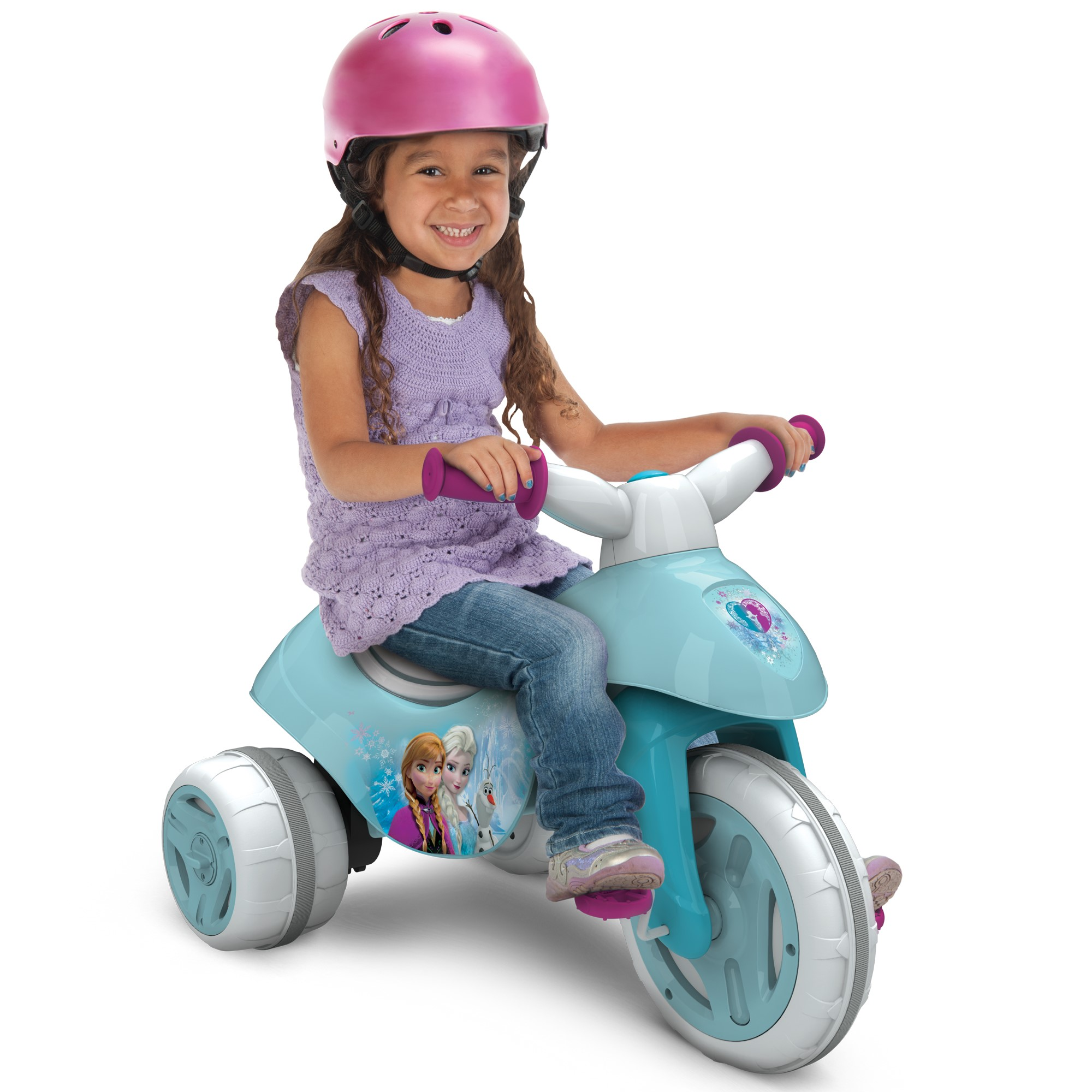 Disney Frozen Battery-Powered Electric Ride On Tricycle, by Huffy