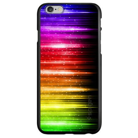 CUSTOM Black Spigen Thin Fit Case for Apple iPhone 7 / iPhone 8 (4 7