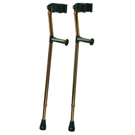 Lumex 6346 Deluxe Ortho Forearm Crutches, Medium, Color