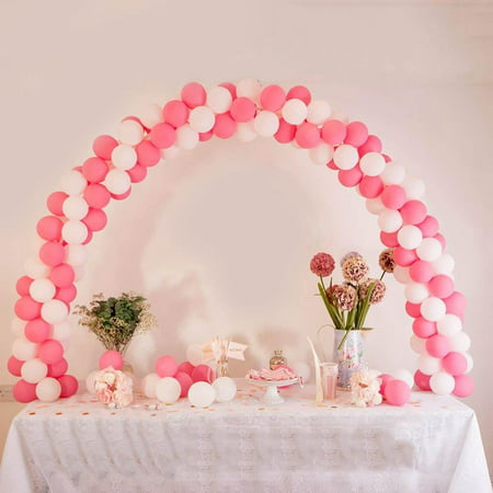 Efavormart 12ft Adjustable Balloon Arch Stand Kit DIY Birthday Decoration for Wedding Party Decor Birthday Celebration (Party City.com Birthday)
