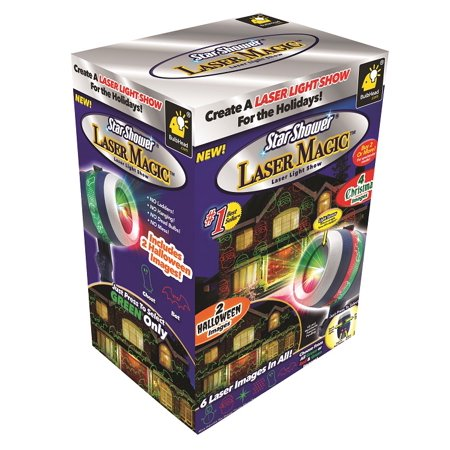 As Seen On Tv Star Shower Laser Magic Holiday Light Show