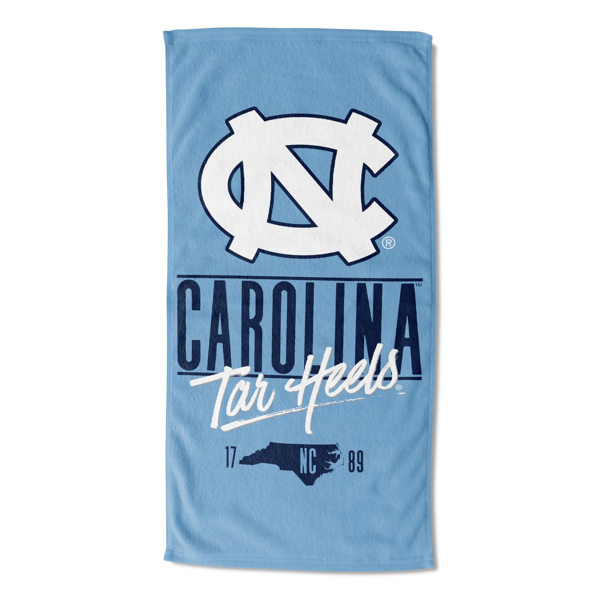 """NCAA North Carolina Tar Heels 30"""" x 60"""" """"Statehood"""" Beach Towel, 1 Each"""