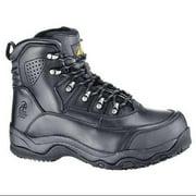 SHOES FOR CREWS 8290W Work Boots,Mens,10-1/2,D,Black,PR G0166857