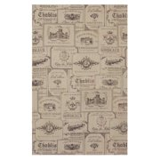 Downton Abbey by Heritage Lace Wine Labels 18 x 28 in. Tea Towel