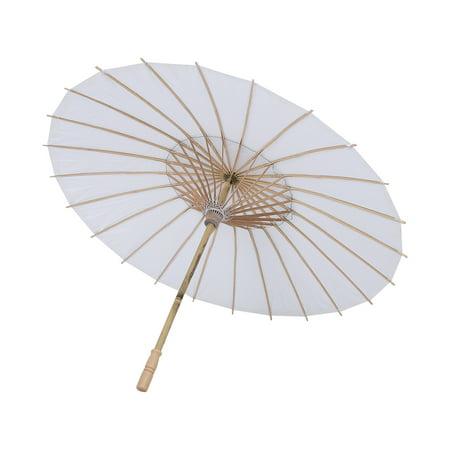 HURRISE wedding party decorative umbrella, paper umbrella,White Paper Umbrella Wedding Favor Party Decoration Bridal Photograph Accessory Art Display