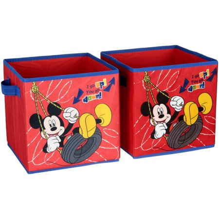 Disney Mickey Mouse 2-Pack Storage Cube ()