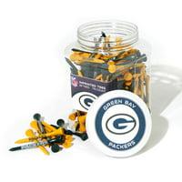 Team Golf NFL Green Bay Packers Jar Of 175 Golf Tees