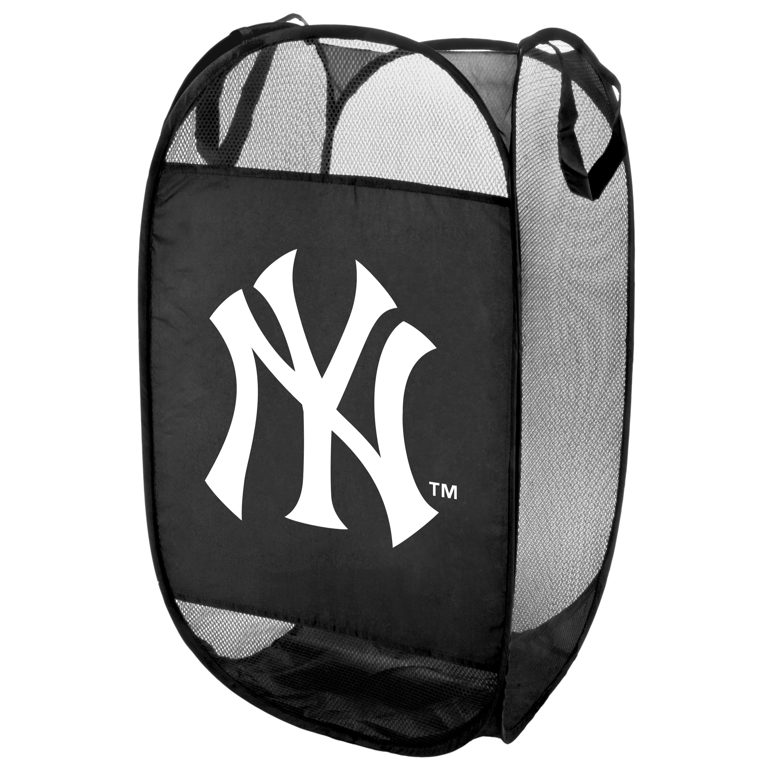 New York Yankees Official MLB Laundry Hamper Fold Up Flip Open by Forever Collectibles 050353