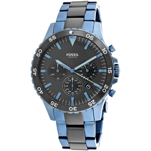 Fossil Men's Crewmaster Watch Quartz Mineral Crystal CH3097