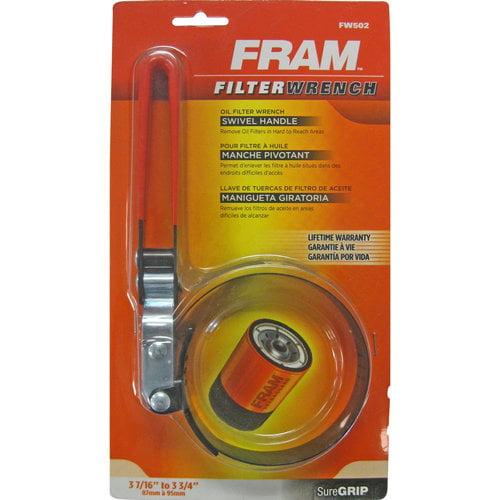 FRAM Adjustable Oil Filter Band Wrench