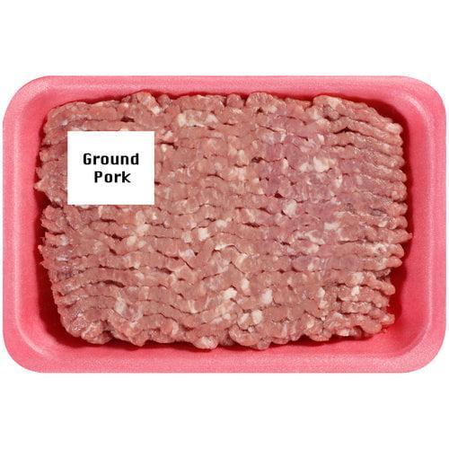 MEAT GROUND PORK