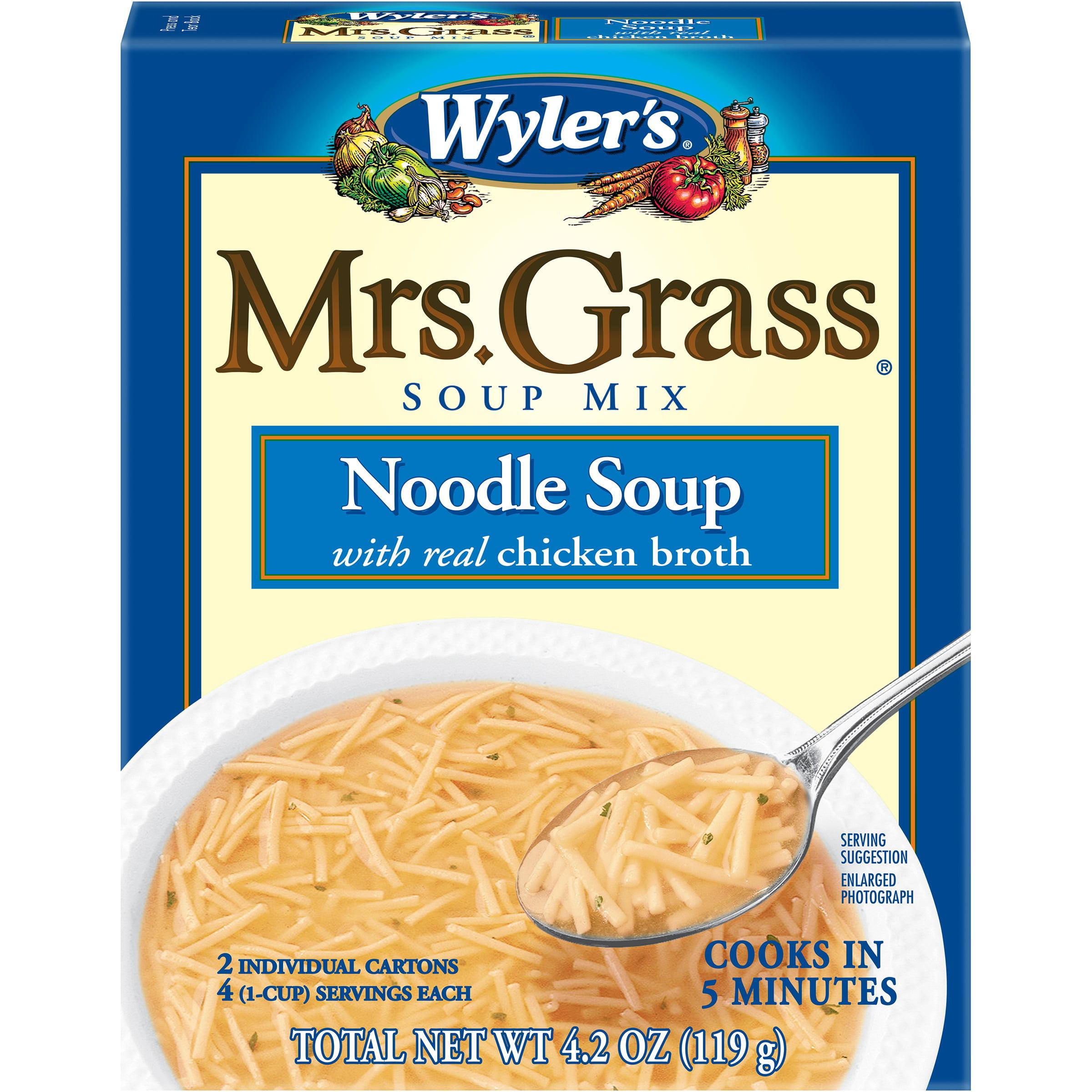 Wyler's Mrs. Grass Noodle Soup Mix 4.2 oz. Box