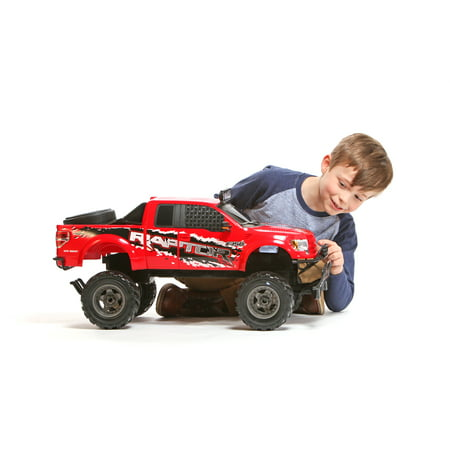 New Bright RC 1:6 Scale Ford Raptor - Kart Radio Remote Control Car